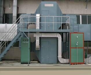 有機廢氣活性炭吸附催化燃燒再生裝置